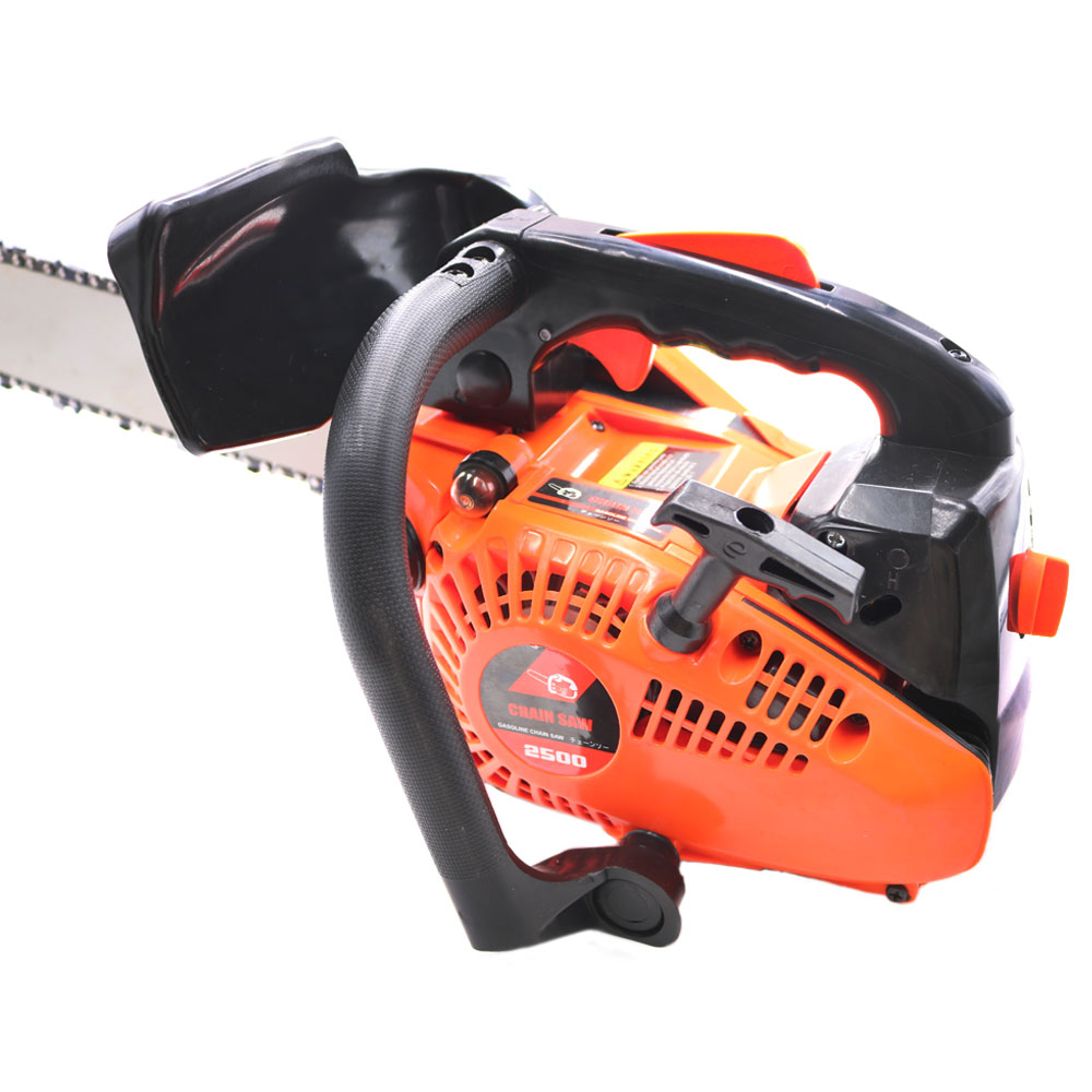 CHAINSAW 2500 12inchBlade Chainsaw With Cutter 25CC Wood SAW CHAIN Saw Professional Small Chain Mini Gasoline