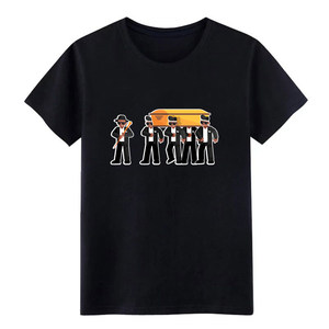 Coffin dance dancing meme pallbearers ghana Футболка мужская футболка с принтом Повседневная Весенняя Оригинальная футболка с круглым вырезом