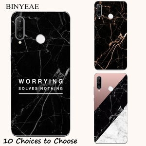 Black Marble stone soft Case F