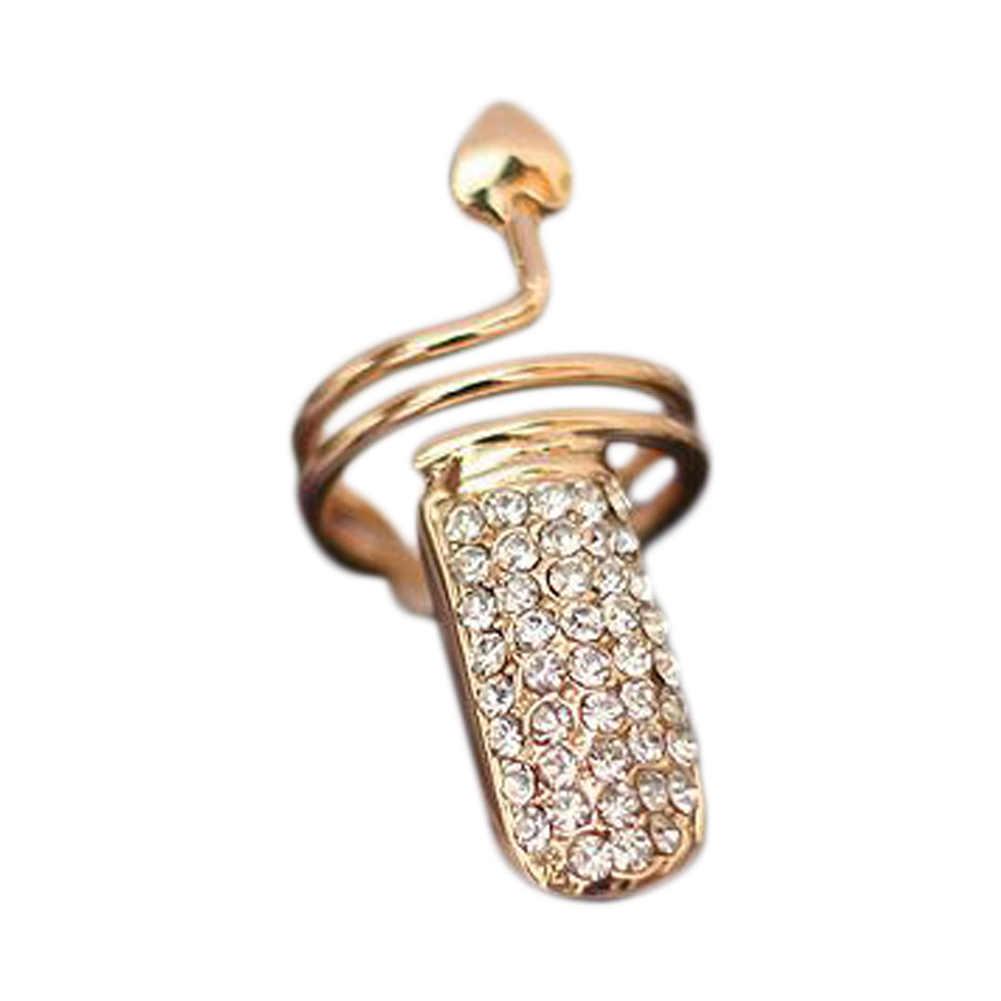 חם ווג פשוט אספקת חדש האחרון מגמה בעבודת יד מזדמן אישיות קריסטל טבעת מצוין