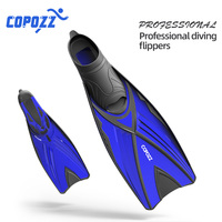 Scuba Snorkel Diving Swimming Fins Foot Fin Flippers Flexible Anti slip Adult Profession Diving Fins Swimming Shoes Water Sports