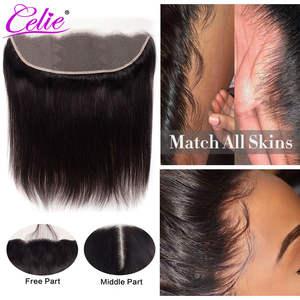 Celie Closure HD Hair Lace-Frontal Transparent Straight