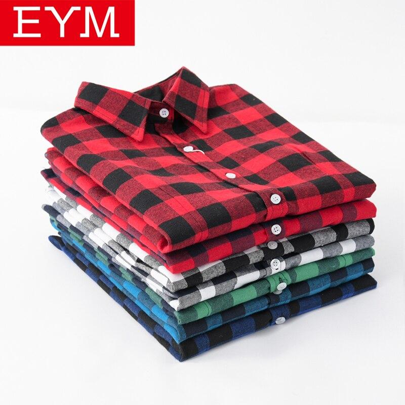 Classic Plaid Shirt Women 2019 New Plus Size Blouses Cotton Women Blouse Tops Casual Office Style Long Sleeve Shirts Blusas