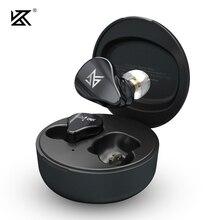 KZ SA08 TWS True Wireless Bluetooth v5.0 auricolari unità 8BA gioco auricolari Touch Control cuffie sportive con cancellazione del rumore