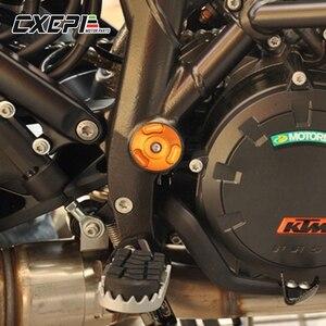 Image 2 - Tampa para moldura de motocicleta, plugue para quadro de motocicleta para ktm 1050 1090 1190 1290 adventure adv 1290 super duke r 2013 2017 2018