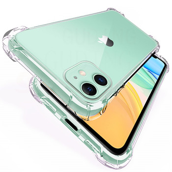 Transparent Shockproof Silicone Case For Xiao Redmi Note 8 Note 8Pro Redmi 8 8A Case 360 Silicone Case Protect Cover Clear image