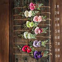 Cinta para el pelo con tocado floral estilo Jane Z Ann Forest baby1 año/100 día/recién nacido fotografía props bebé estudio fotos