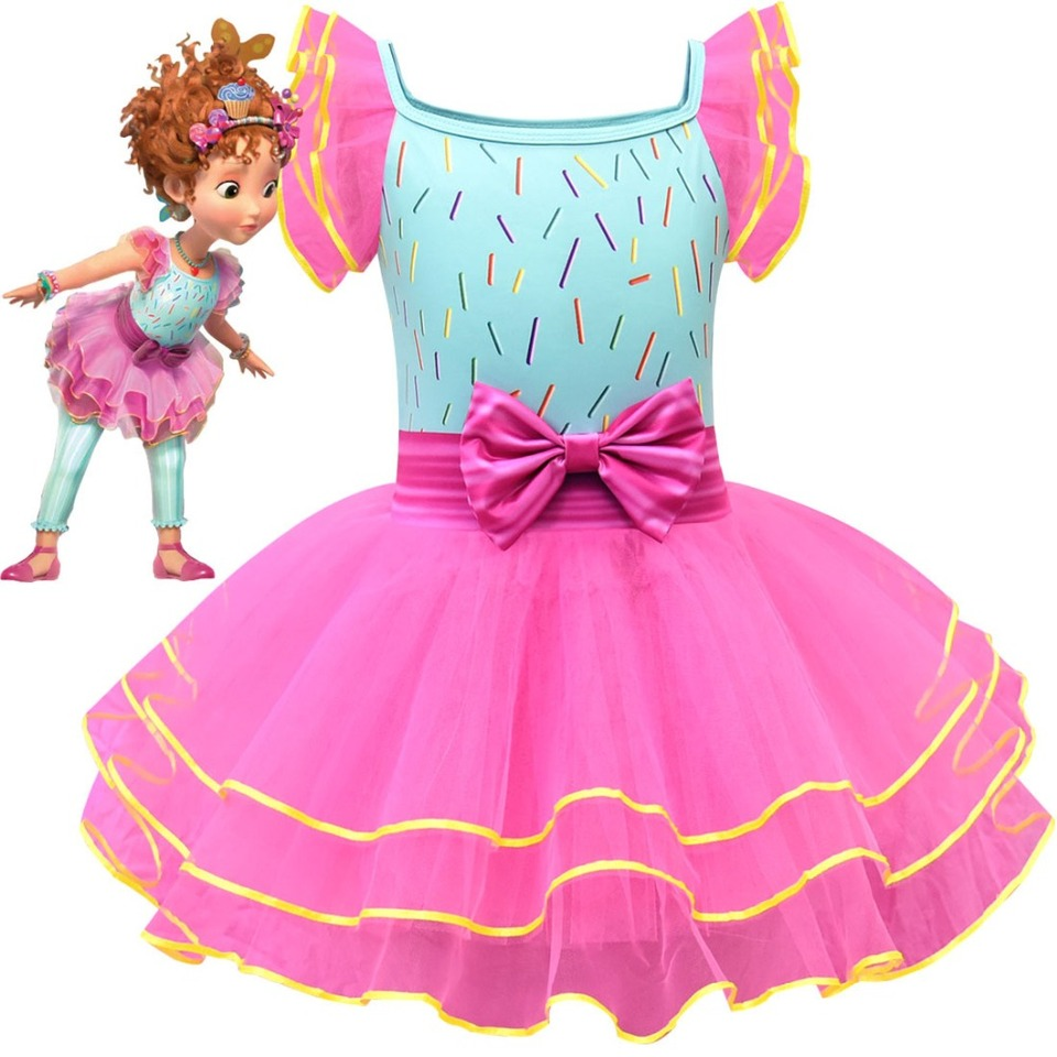 New Girl Fancy Nancy Dress Girl Birthday Party Gift Costume Halloween Carnival Ballerina Cosplay Dress Girls Costumes Aliexpress
