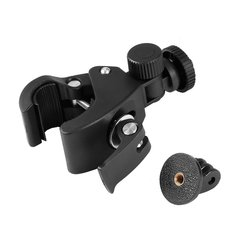 Bicycle Bike Handlebar Clamp Roll Cage Mount Seatpost With Adapter for  HD Hero 5 4 3 Sport Camera