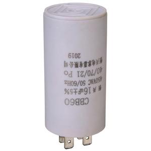 1pc Double Insert Parts Starting Capacitor Motor Permanent 16uf 450V 50 60 Hz CBB60 Capacitor AC Motor Micro Parts