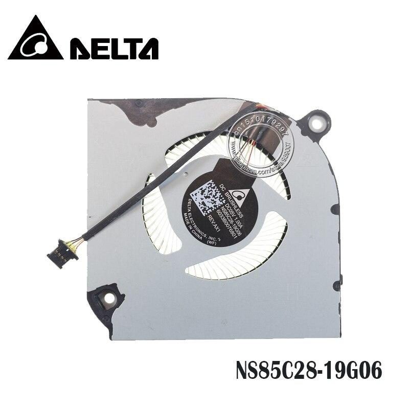 Laptop Cooling Fan NS85C28-19G06 6033B0076801 DC05V 1.00A 4PIN Metal Leaf