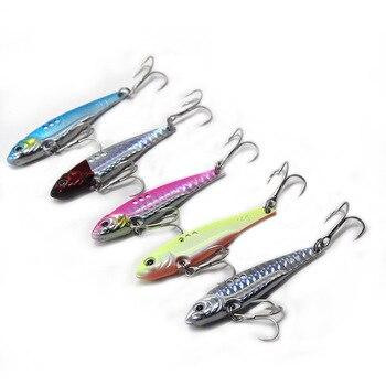 7/10/14/18g Metal Vib Blade Lure Sinking Vibration Baits Artificial Vibe for Bass Pike Perch Fishing Long Shot