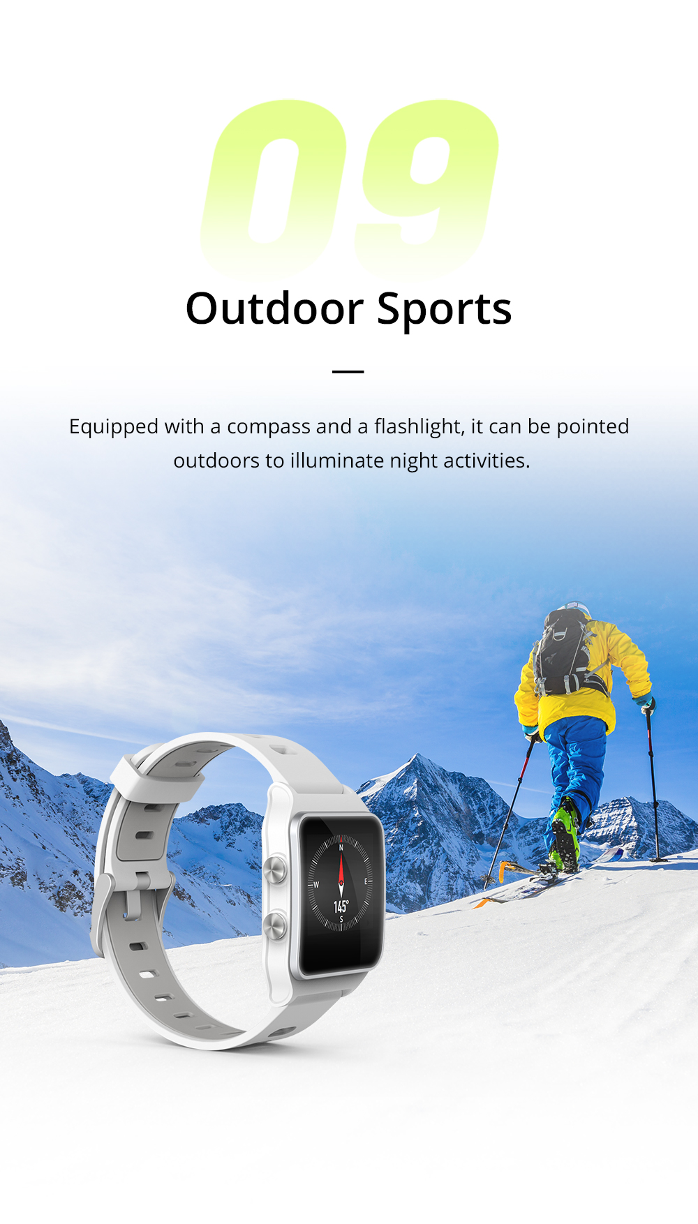 Dropshipping Makibes BR3 Strava Smartwatch Men Built-in GPS Smart Watch IP68 Waterproof Fitness Tracker Heart Rate Monitor Watch (8)