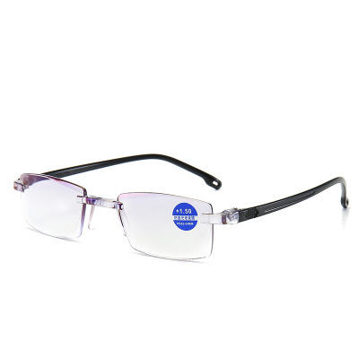 Reading Glasses Hot Anti-blue Light Lenses Retro Business Hyperopia Prescription Eyeglasses For Parents
