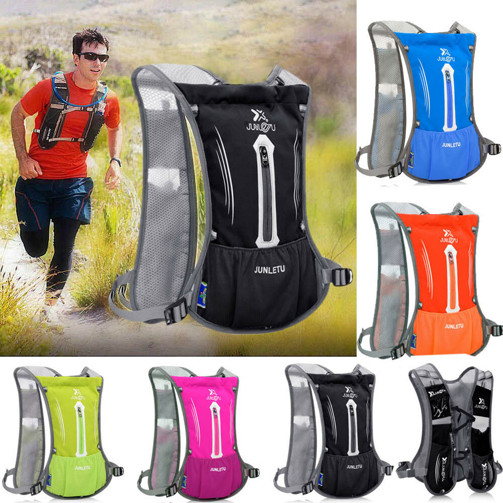 Women Men Sports Backpack Hiking Hydration Cycling Running Vest 2L Water Pack