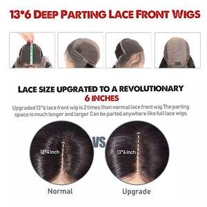 Image 3 - 13X6 brazylijski luźna koronkowa fala przodu włosów ludzkich peruk dla kobiet 13x4 koronki przodu peruki Karizma Remy koronki przodu peruki z dziecięcymi włosami