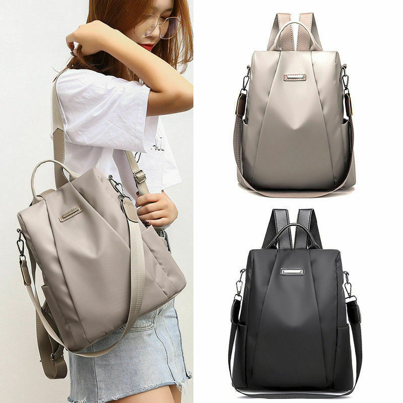 Fashion Women Girl Travel Backpack Travel Bag Anti-Theft Oxford Cloth School Bag