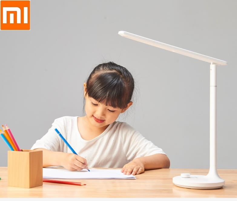 Xiaomi Mijia LED Rechargeable  Desk Lamps Study Lamp Read Office Table Lamps Portable Bedside Night Light Knob Dimming