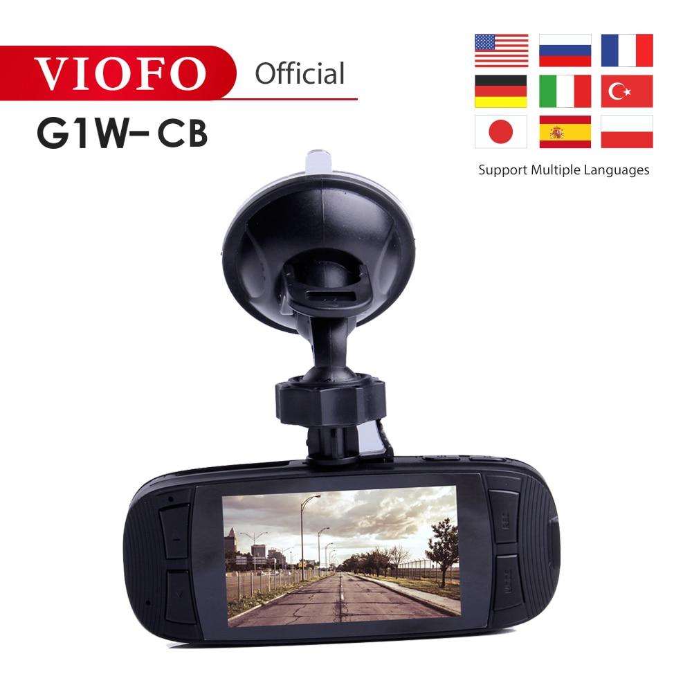 VIOFO Black Box Car-Accessories Car-Dash-Camera Super-Capacitor 1080p-Video G1W-CB HD