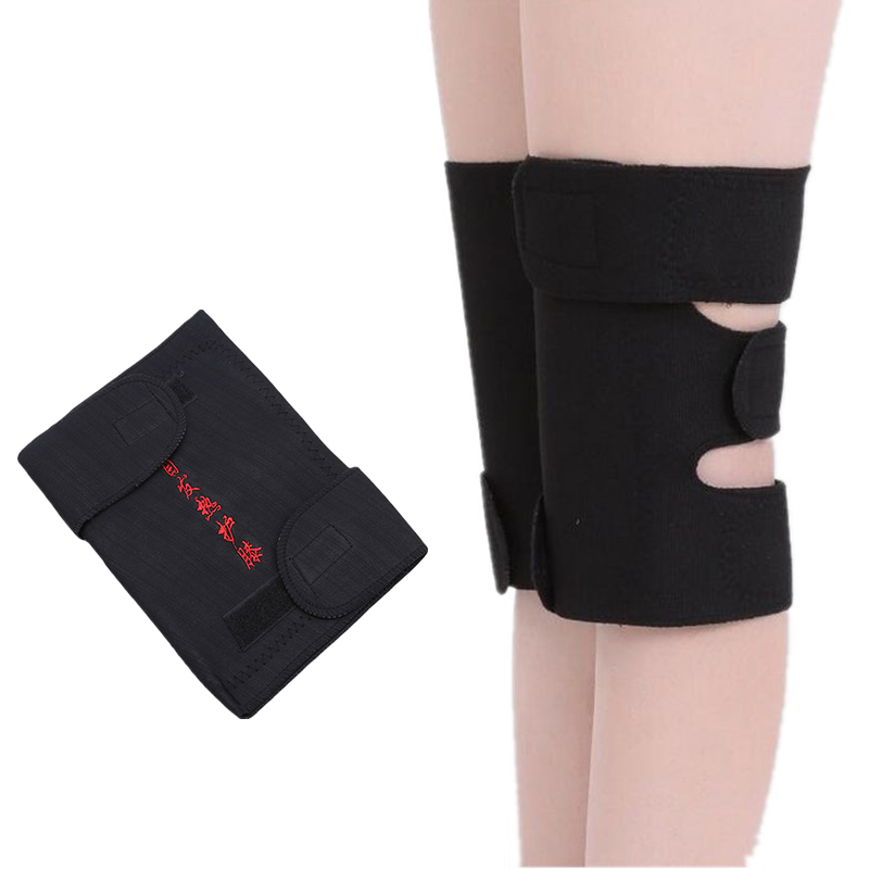 1Pair Magnetic Knee Protector Belt Arthritis Protection High Quality Knee Support Sleeves Pad Tourmaline Self-heating Kneepad