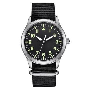 Image 4 - Corgeut Reloj de 42mm para hombre, automático, de lujo, de marca DISEÑO DEPORTIVO, de cristal de zafiro, de cuero, relojes de pulsera mecánicos