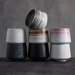 LUWU big capacity ceramic tea cup porcelain teacups chinese kung fu cup 170ml