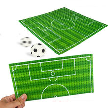 32*16 Football Basketball Base Plate Compatible LegoINGlys Figures Court Baseplate DIY Building Blocks Bricks Toys For Children(China)