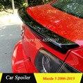 Для Mazda 3 спойлер высокого качества ABS Материал заднего крыла автомобиля Спойлер для Mazda 3 Mazda3 спойлер 2006-2013
