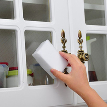 20 Pcs/lot 10x6x2cm Melamine Sponge Magic Eraser Cleaner for Kitchen Office Bathroom Cleaning Nano D