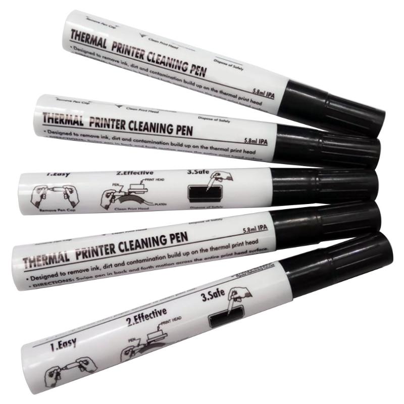 5 Useful Repair Pens, Sterilizing Pens, Printer Print Head Cleaning Pens, Label Card Printers, Thermal Printer Cleaning Pens