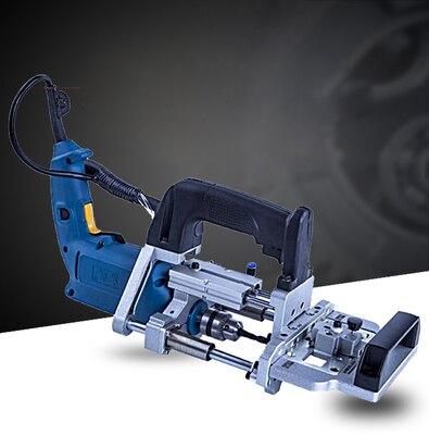 3 в 1 пневматический станок с боковым отверстием 500 Вт, горизонтальный перфоратор для деревообработки, перфоратор, инструмент для сверления