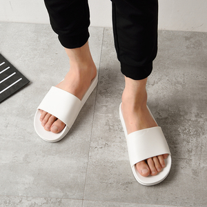 Image 5 - New Mijia One Cloud Men Slippers Black and White Shoes Non slip Slides Bathroom Summer Casual Style Soft Sole Flip Flops