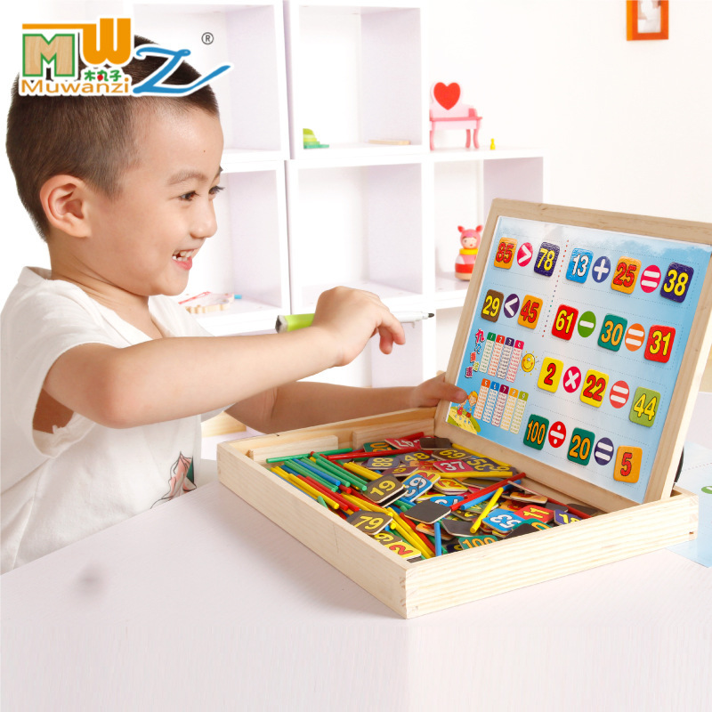 Multi-functional Educational Toy Magnetic Joypin Jigsaw Puzzle Sketchpad Children Educational Force GIRL'S Male Baby Product Woo