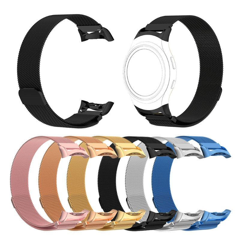 2019 New Bracelet Milanese Magnetic Loop Band For Samsung Gear Fit 2 Fit2 Pro SM-R360 Smart Watch Strap Belt Watch