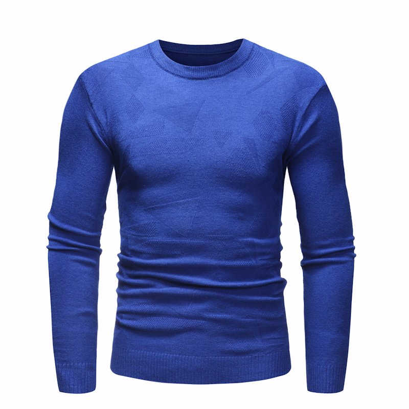 Mens Autumn New O-Neck Soft Warm Hombre Sweater Pullovers Men For Teens Brand 3D Pattern Knitwear Baggy Casual Sweaters Men