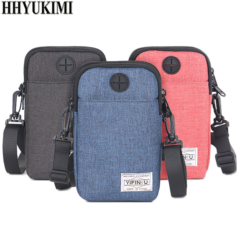 HHYUKIMI Neck Hanging Travel Passport Cover Wallet ID Holder Storage Clutch Money Bag Travel Multifunction Credit Card Package