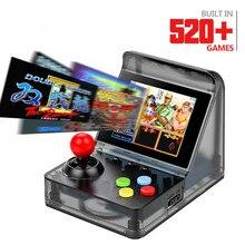 32 бит Ретро аркадная мини игровая консоль 3,0 дюймов Встроенный 520 игры портативная игровая консоль семья ребенок Детские Подарочные игрушки