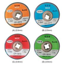 Repair-Tool Lead-Cord Desoldering Braid Solder-Remover Flux-Welding BGA Wick-Wire