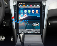 12.1 vertical screen Android 4+32 RAM For TOYOTA Camry 2012 2016 car player gps system multimedia player Built in map