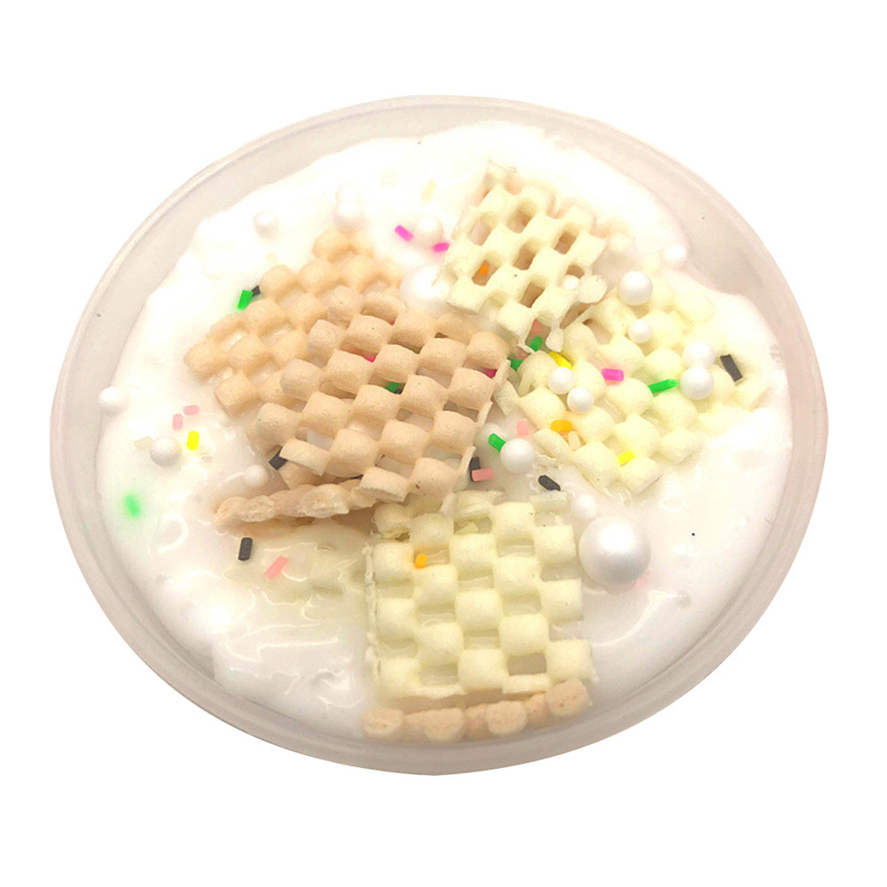 Cloud Slime Cotton Fluffy Foam Clay Antistress Toys Sand For Squeeze Toys Soft Cotton Charms Slime Fluffy Light Soft Polymer #B
