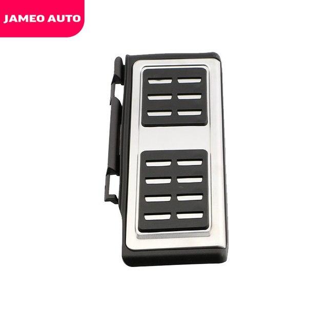 Jameo-véhicule en acier inoxydable   Frein de voiture, pédale de pédale, couvercle de pédales, pour Volkswagen VW Skoda Kodiaq 2016 2017 2018 2019 2020