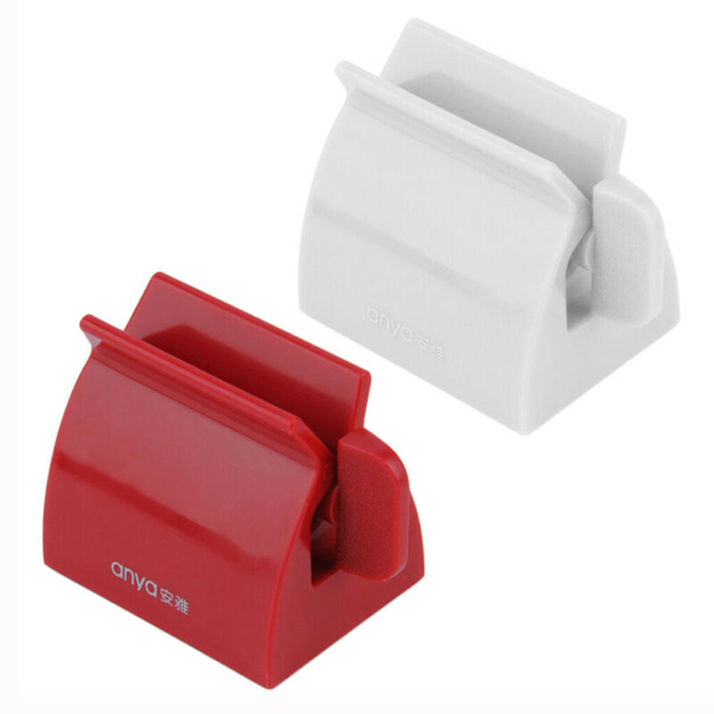 Toothpaste Squeezer Bath Rolling Tube Toothpaste Squeezer Toothpaste Dispenser Seat Holder Stand