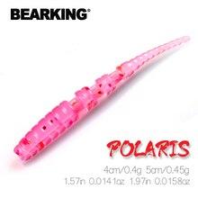 BEARKING Polaris 4 см 5 см рыболовные приманки Мягкая приманка искусственная приманка Хищник снасть Джеркбейт для щуки и окуня