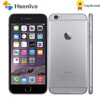 Apple iphone 6 usado (95% novo)-desbloqueado original 4.7 inch inch polegada 8mp ips 1gb ram 16gb 64gb 128gb rom gsm wcdma lte iphone6 telefone celular