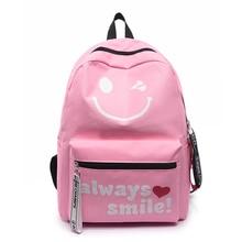 OLN Bags School College student teenager PINK school bag green Backpacks girls women nylon Waterproof  Wear Ultralight Backpack
