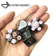 Erotic Craps Toys Set Sex Dice Love Dices Toys For Adults games Sex Toys Couples Dice Sex Game Bar Toy Couple Erotic Sex Toy black wolf set funny sex dice 6 12 positions sexy romantic love gambling adult games erotic craps tube sex toys for couples