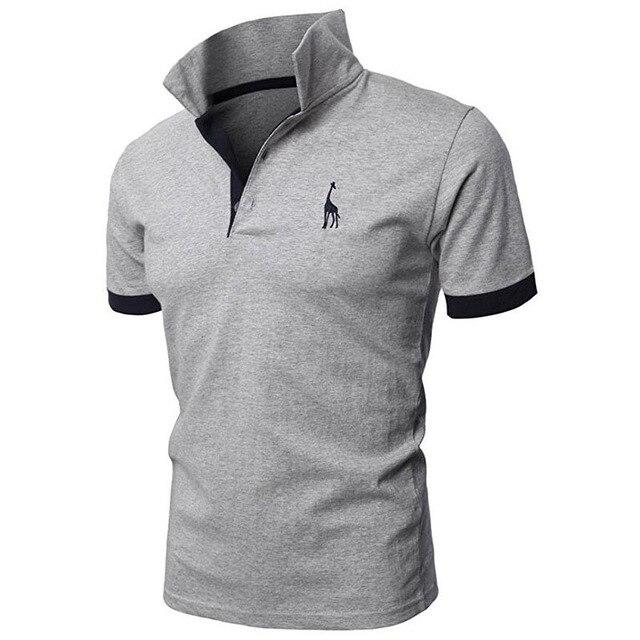 men's polo shirts casual short sleeve polo shirt men fashion embroidery Business men's clothing thin summer polo shirt men 2