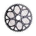 Черный серебристый велосипед 9 скоростей кассета 11-50T широкое соотношение MTB горный велосипед свободного хода часть скорость s звездочка