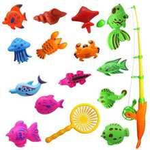 Игрушки для рыбалки детские игрушки игры в воде искусственные