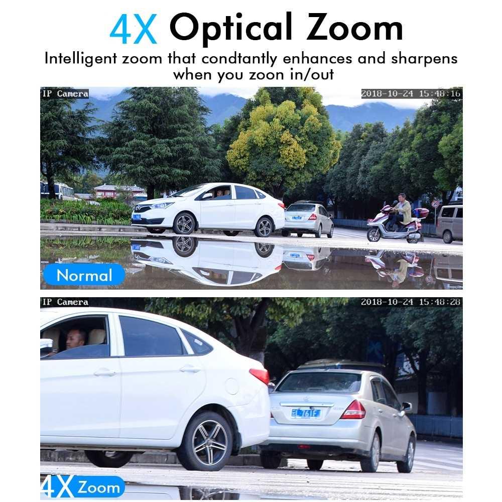 WakeView PTZ мини Высокоскоростная купольная камера IP 1080P 4X оптический зум 2MP наружная Водонепроницаемая CCTV видеонаблюдение ONVIF HD Ночное